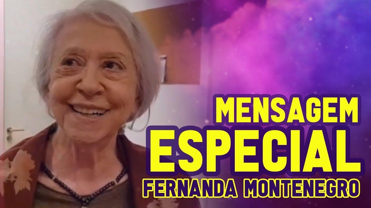 Imagem de Mensagem emocionante de Fernanda Montenegro para Rodrigo Tudor