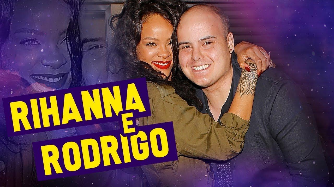 Imagem de Encontro emocionante de Rodrigo Tudor com Rihanna (2014) // #20ANOS