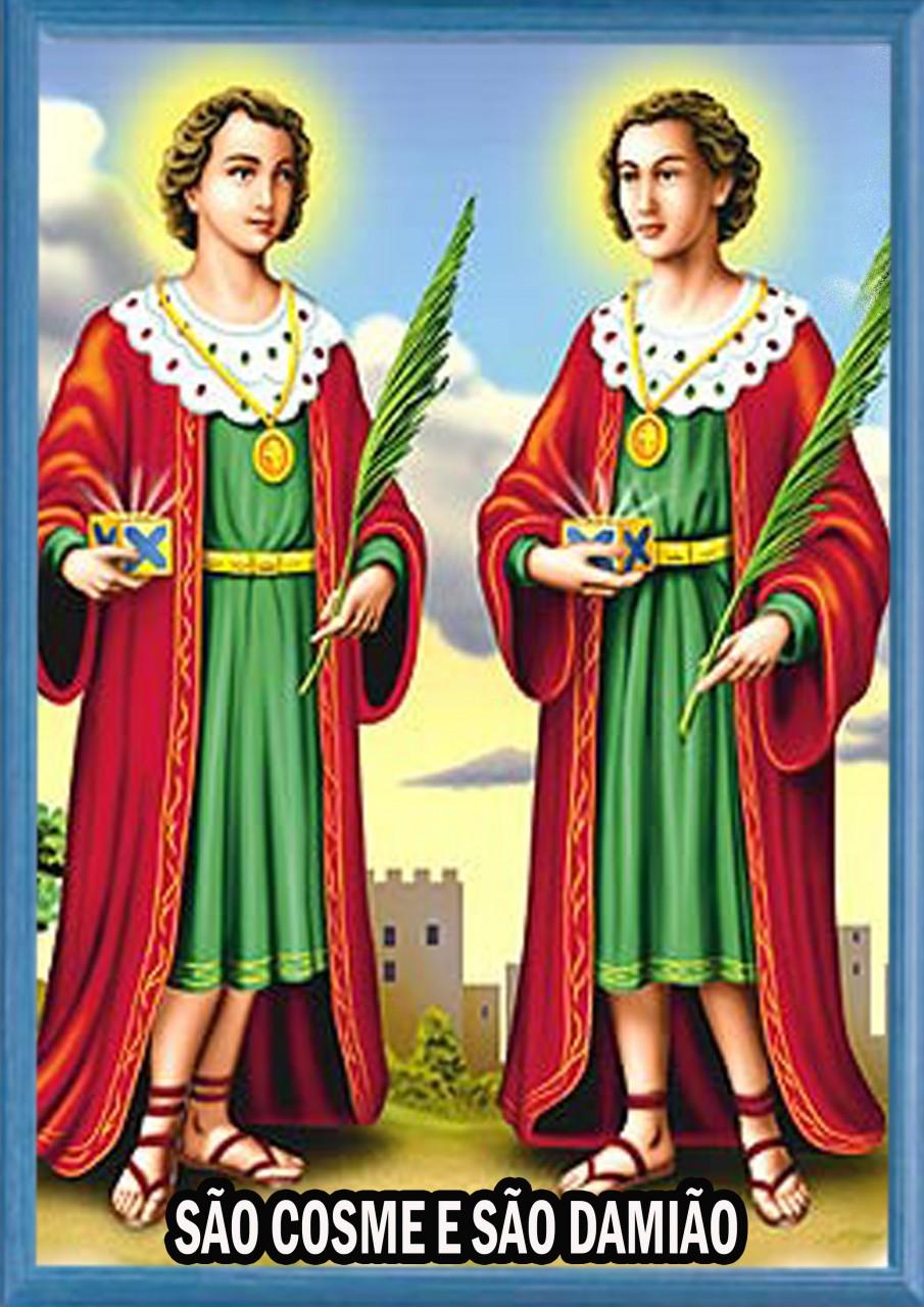 Imagem de Oração de Cosme e Damião