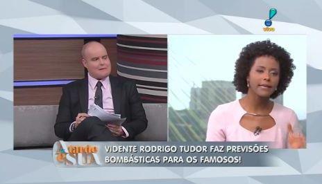 Imagem de Vidente Rodrigo Tudor acerta previsão sobre Maju Coutinho