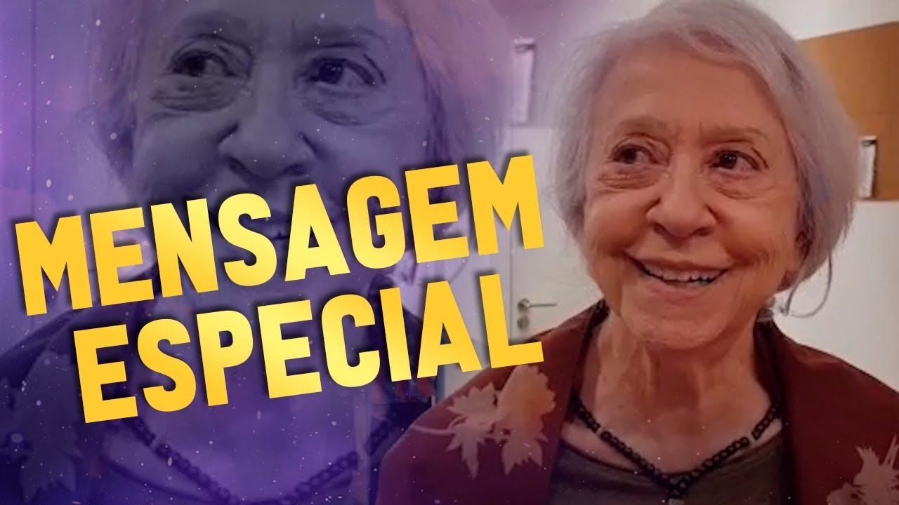 Imagem de Mensagem especial da atriz Fernanda Montenegro // Rodrigo Tudor #20ANOS