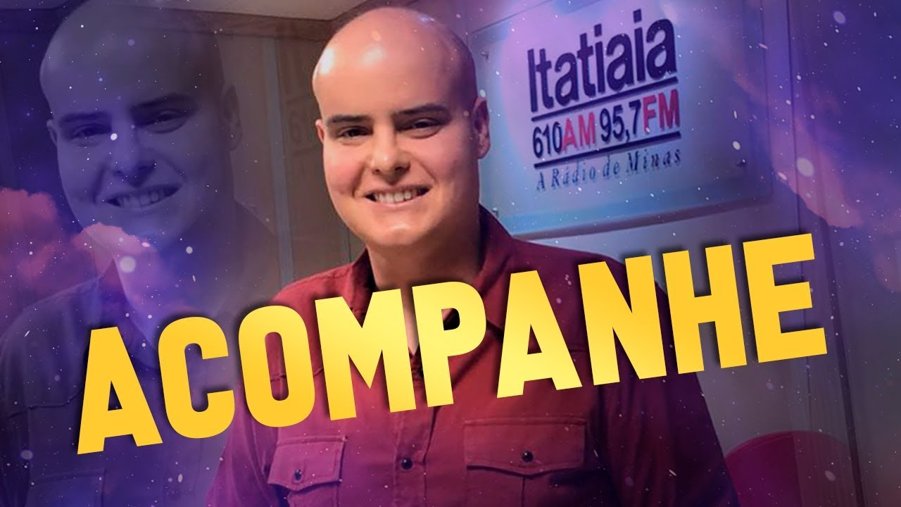 Imagem de Acompanhe Rodrigo Tudor na Rádio Itatiaia (95,7 FM) // #20ANOS
