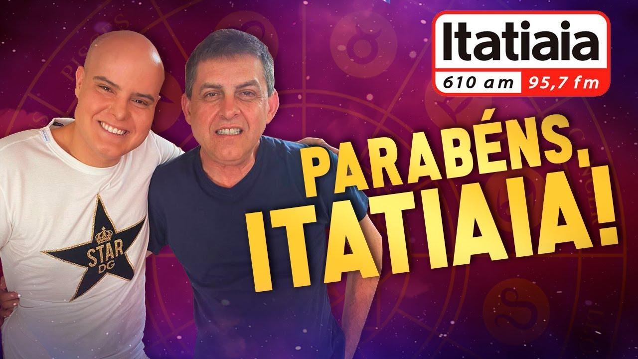 Imagem de 68 anos da Rádio Itatiaia | Mensagem de Rodrigo Tudor | #2020